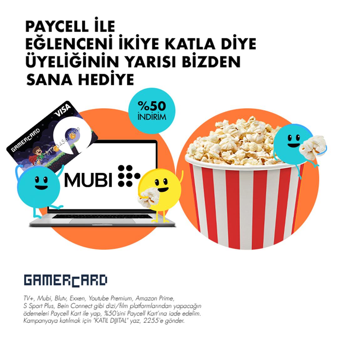 Paycell GAMERCARD ile Üye Ol, %50 Hediye Kazan!